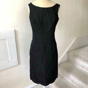 Nicole Miller Silk Scallop Low Back Dress NWOT